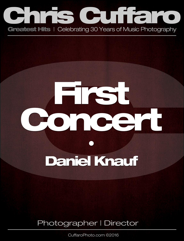 First Concert: Daniel Knauf
