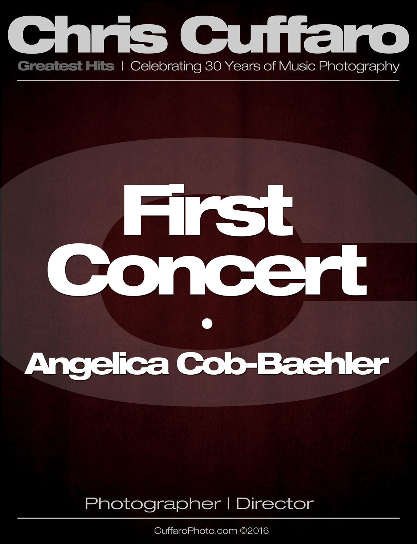 First Concert: Angelica Cob-Baehler