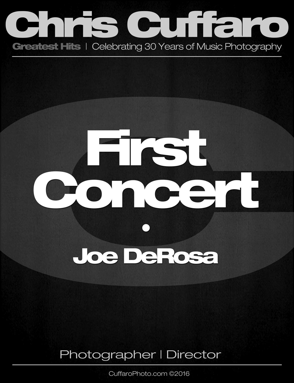 First Concert: Joe DeRosa