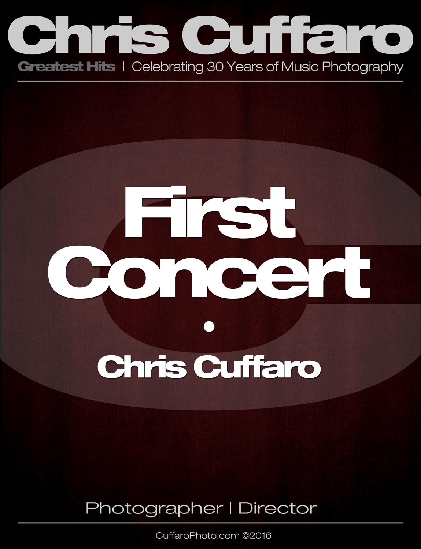 First Concert: Chris Cuffaro