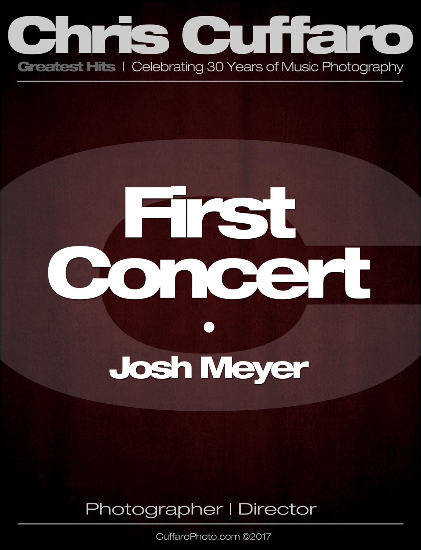 First Concert: Josh Mayer