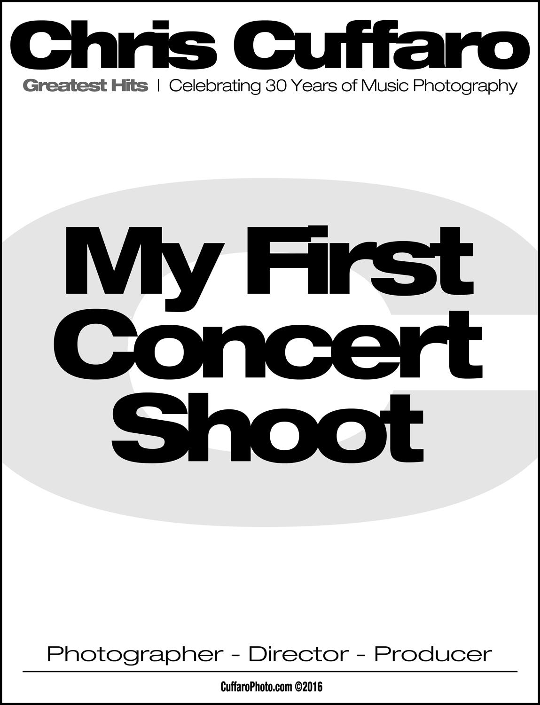 My First Concert Shoot